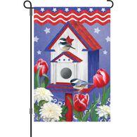 Premier Designs Patriotic Birdhouse Garden Flag