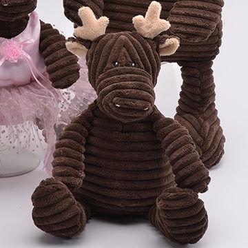 Teddy Bear Stuffed Toy, Unipak Designs Plush Moose Kordy Kittery Trading Post