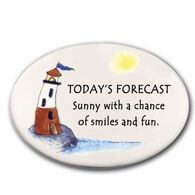 August Ceramics Today's Forecast Magnet