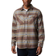 Columbia Men's Outdoor Elements Stretch Flannel Long-Sleeve Shirt