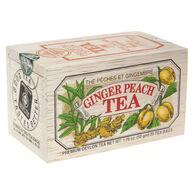Metropolitan Ginger Peach Tea Soft Wood Chest, 25-Bag