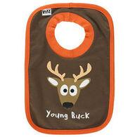 Lazy One Infant Boys' Young Buck Bib