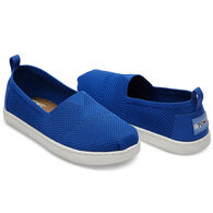 TOMS Boy's Mesh Knit Alpargata Slip-On Shoe