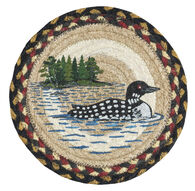 Capitol Earth Loon Patch Trivet