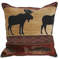 """Paine Products 10"""" x 11"""" Moose Tapestry Balsam Pillow"""