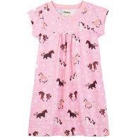 Hatley Toddler Girl's Frolicking Horses Nightdress