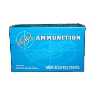Bullseye 38 Special 148 Grain Wadcutter Reloaded Handgun Ammo (50)