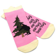 Hatley Women's Bear Hug No-Slip Ankle Sock