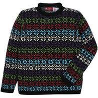 Binghamton Knitting Women's Snowflake Rollneck Sweater