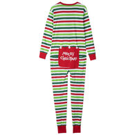 Hatley Men's Christmas Stripe Union Suit