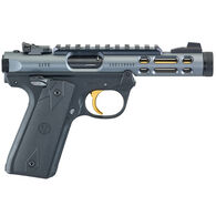 "Ruger Mark IV 22/45 Lite TB Diamond Gray Anodized 22 LR 4.4"" 10-Round Pistol"