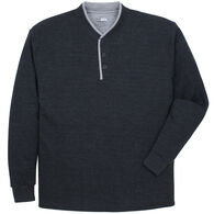 Canyon Guide Men's Double Collar Thermal Henley Long-Sleeve Shirt