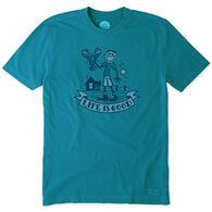 Life is Good Men's Lobster Jake Pier Crusher Short-Sleeve T-Shirt