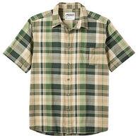 Mountain Khakis Men's Tomahawk Madras Short-Sleeve Shirt