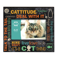 "Prinz More Than Words Cat Picture Frame - 4"" x 6"""