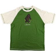Lazy One Men's I Believe Bigfoot Pajama Short-Sleeve T-Shirt