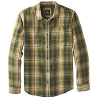 prAna Men's Holton Plaid Woven Long-Sleeve Shirt