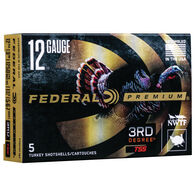 "Federal Premium 3rd Degree w/ Heavyweight TSS 12 GA 3"" 1-3/4 oz. #5, 6, 7 Shotshell Ammo (5)"
