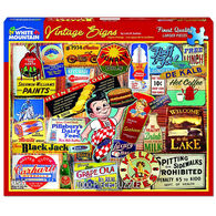 White Mountain Jigsaw Puzzle - Vintage Signs