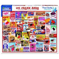 White Mountain Jigsaw Puzzle - Ice Cream Bars