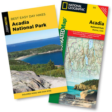 Best Easy Day Hiking Guide and Trail Map Bundle: Acadia National Park, 4th Edition by Dolores Kong & Dan Ring
