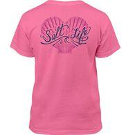 Salt Life Girls' Seashell Love Short-Sleeve T-Shirt