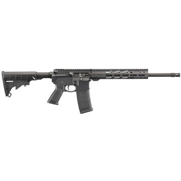 Ruger AR-556 Free-Float Handguard 5.56 NATO 16.1 30-Round Rifle