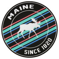 Blue 84 2nd To None Moose Maine Sticker
