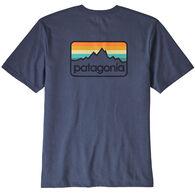 Patagonia Men's Line Logo Badge Short-Sleeve Responsibili-Tee
