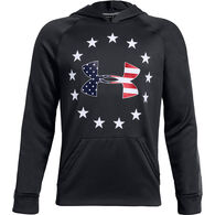 Under Armour Boy's Freedom Tech Terry Hoodie