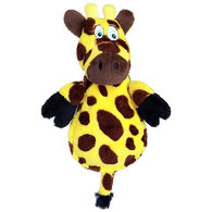 Hear Doggy Flattie Giraffe Chew Guard Ultrasonic Dog Toy