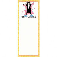 Hatley Little Blue House Hot Flashes Magnetic List Notepad