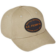 Filson Men's Twill Logger Cap