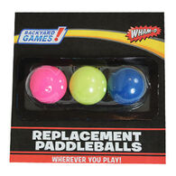 Wham-O Replacement Paddleball - 3 Pk.