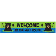 High Cotton Words of Wisdom Sign - Lake House Welcome