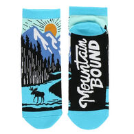 Lazy One Women's Mountain Bound Ankle Sock