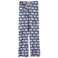 Hatley Little Blue House Women's Cottage Bears Jersey Pajama Pant