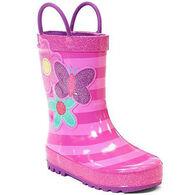 Western Chief Girls' Flower Cutie Rain Boot
