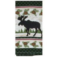 Kay Dee Designs Woodland Moose Terry Towel
