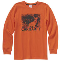 Carhartt Boy's Deer Silhouette Long-Sleeve Shirt