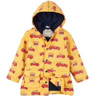 Hatley Toddler Boy's Vintage Fire Trucks Raincoat