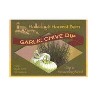Halladay's Harvest Barn Garlic Chive Dip & Seasoning Blend