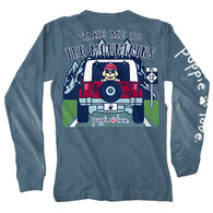 Puppie Love Women's Take Me To The Mountains Pup Long-Sleeve T-Shirt