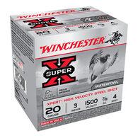 "Winchester Super-X Xpert Hi-Velocity Steel 20 GA 3"" 7/8 oz. #4 Shotshell Ammo (25)"