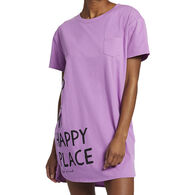 Life is Good Women's Happy Bed Snuggle Up Relaxed Sleep Dress