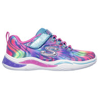 Skechers Girls' S Lights: Power Petals - Flowerspark Athletic Shoe