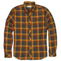 Dakota Grizzly Men's Highlands Herringbone Plaid Long-Sleeve Shirt