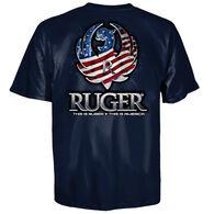 Ruger Men's Flag Reflection Short-Sleeve T-Shirt