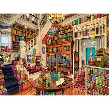 White Mountain Jigsaw Puzzle - Readers Paradise