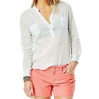 Carve Designs Women's Dylan Gauze Long-Sleeve Shirt